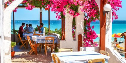Restaurant i Ixia.