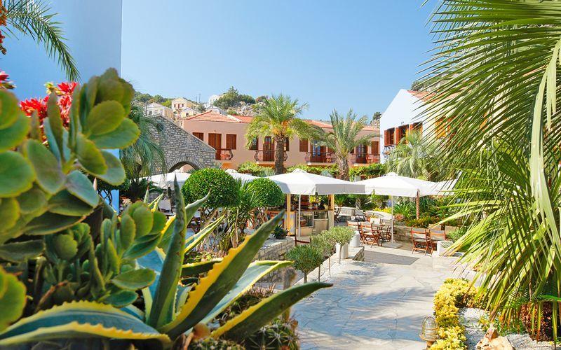 Hotel Iapetos Village på Symi, Grækenland