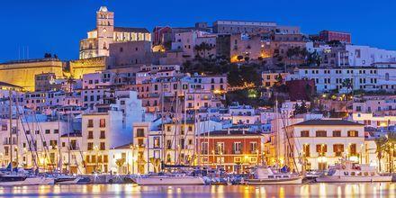 Ibiza om aftenen - et smukt syn.