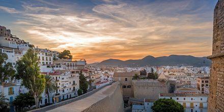 Dalt Vila, den gamle by på Ibiza.
