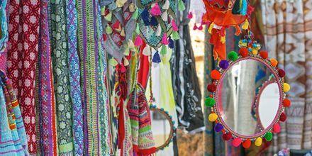 Shop på Ibizas hippiemarkeder.