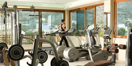 Fitnessrum på Hotel Ikaros Beach Resort & Spa på Kreta, Grækenland.