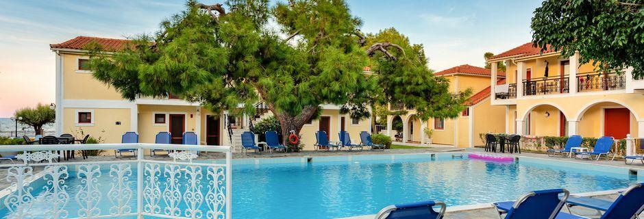 Pool på Hotel Iliessa Beach i Argassi, Zakynthos