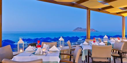 Restaurant på Hotel Indigo Mare på Kreta, Grækenland.