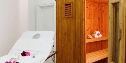 Sauna på Hotel Indigo Mare på Kreta, Grækenland.