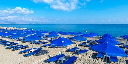 Stranden ved Hotel Indigo Mare på Kreta, Grækenland.