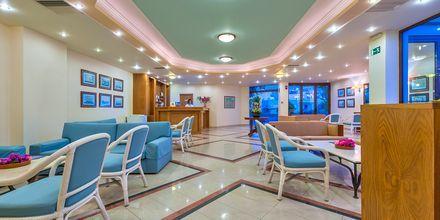 Reception på Hotel Indigo Mare på Kreta, Grækenland.