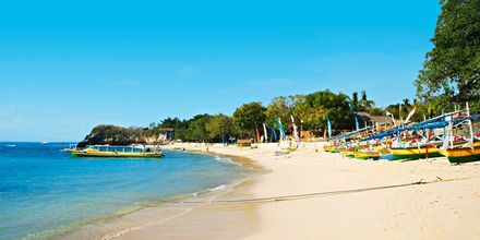 Stranden i Tanjung Benoa, Bali.