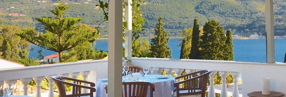 Restauranten på Hotel Ino Village, Samos By.