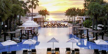 Pool på Hotel Intercontinental Hua Hin Resort i Hua Hin, Thailand.