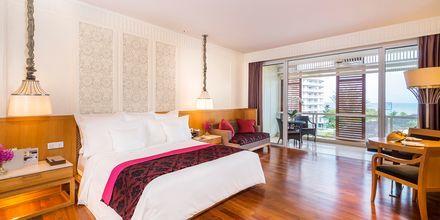 Dobbeltværelse på Hotel Intercontinental Hua Hin Resort i Hua Hin, Thailand.