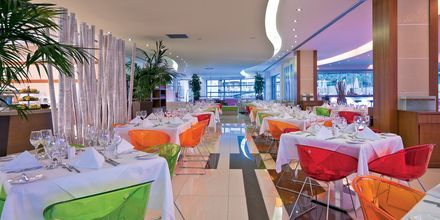 Restaurant på Hotel Iolida Star på Kreta, Grækenland.