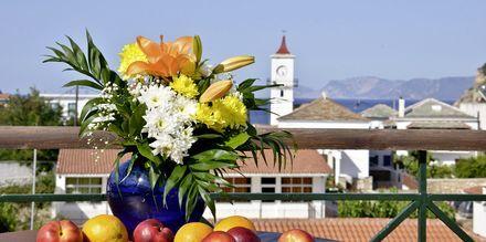 Udsigten fra hotel Ionia på Skopelos, Grækenland.