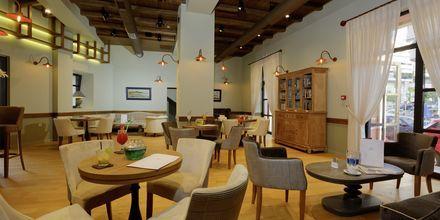 Lobby på hotel Ionia Suites i Rethymnon på Kreta.