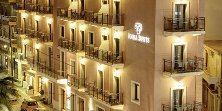 Hotel Ionia Suites i Rethymnon på Kreta.