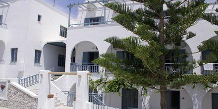 Hotel Iris på Santorini, Grækenland.