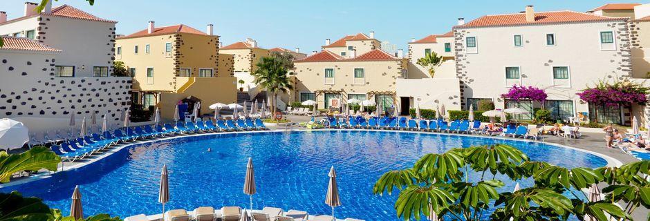 Poolområde på Hotel Isabel i Playa de las Americas, Tenerife