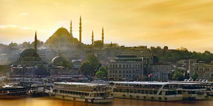 Den blå Moské i Istanbul