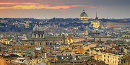 Smukke Rom fra oven.