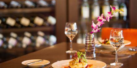 Hovedrestauranten Ibn Majed på Hotel JA Beach i Dubai, De Forenede Arabiske Emirater.