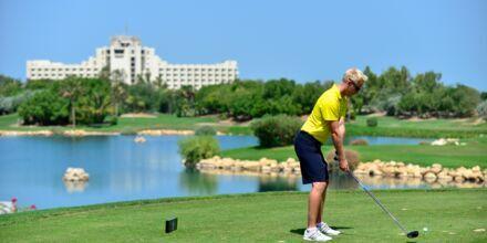 Golf på Hotel JA Beach i Dubai, De Forenede Arabiske Emirater.