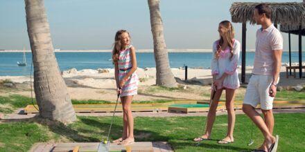 Minigolf på Hotel JA Beach i Dubai, De Forenede Arabiske Emirater.