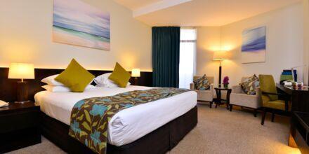 Dobbeltværelse på hotel JA Jebel Ali Beach i Dubai, De Forenede Arabiske Emirater.