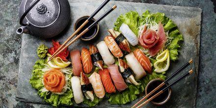Sushi i alle mulige former er et must at prøve i Japan.