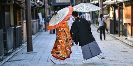 Den japanske kultur skiller sig meget ud fra den vestlige.