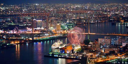 Osaka er en anden skøn by i Japan.