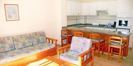 2-værelses lejlighed på Hotel Jardin del Conde på La Gomera, De Kanariske Øer, Spanien.
