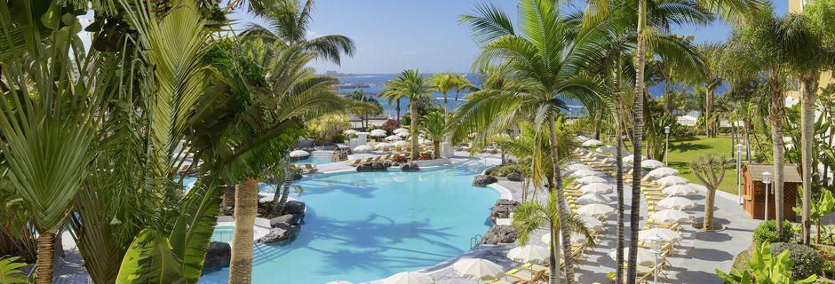 Poolen på hotel Jardines De Nivaria i Costa Adeje, Tenerife