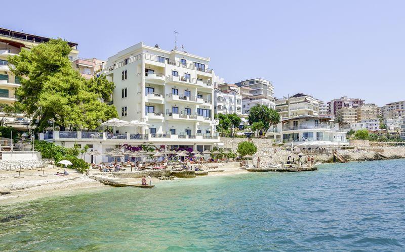 Hotel Jaroal i Saranda, Albanien.