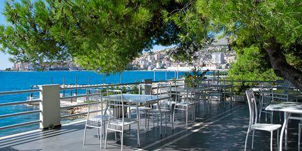 Restaurant på Hotel Jaroal i Saranda, Albanien