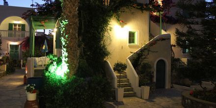 Hotel Joanna på Santorini, Grækenland.