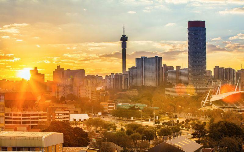 Johannesburg er Sydafrikas største by.