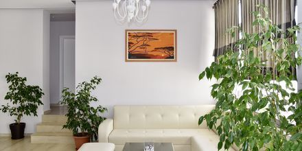 Lobby på Hotel Joni i Saranda, Albanien.