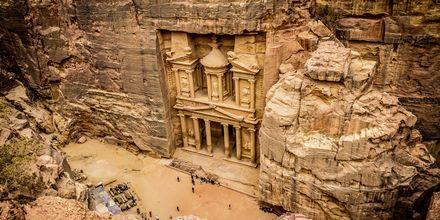 Skattekammeret Al Khazneh i Petra, Jordan