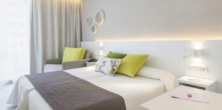 Dobbeltværelser på hotel JS Sol de Alcudia, Mallorca.