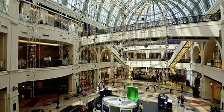 Mall of the Emiratesl i Dubai Al Barsha, De Forenede Arabiske Emirater.