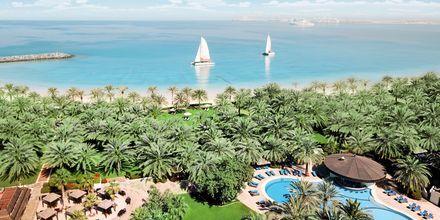 Stranden ved Sheraton Jumeirah Beach Resort i De Forenede Arabiske Emirater.