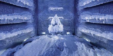 Snowroom på Ottoman Spa på Hotel Jumeirah Zabeel Saray i Dubai, De Forenede Arabiske Emirater.