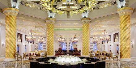 Lobbyen på Hotel Jumeirah Zabeel Saray i Dubai, De Forenede Arabiske Emirater.
