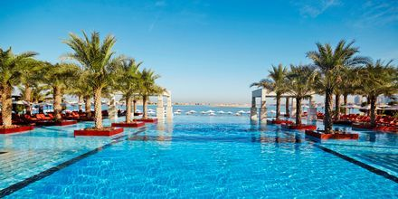 Poolområde på Hotel Jumeirah Zabeel Saray i Dubai, De Forenede Arabiske Emirater.