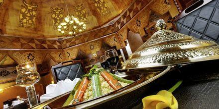 Restaurant på Hotel Jungle Aqua Park i Hurghada, Egypten.
