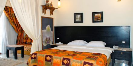 Dobbeltværelse på Hotel Jungle Aqua Park i Hurghada, Egypten.