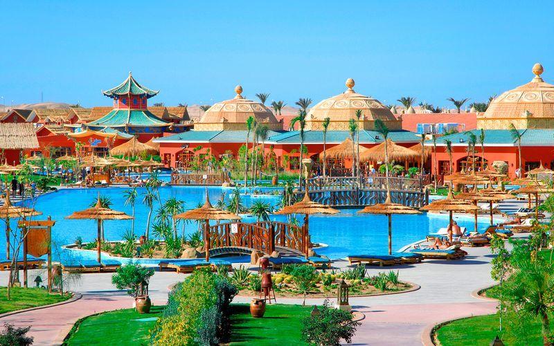 Hotel Jungle Aqua Park i Hurghada, Egypten.