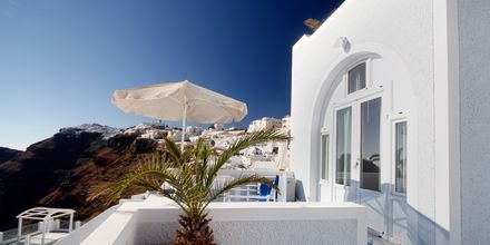 Hotel Kafieris Blue på Santorini, Grækenland.