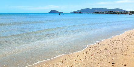 Stranden ved Kalamaki/Laganas på Zakynthos, Grækenland.