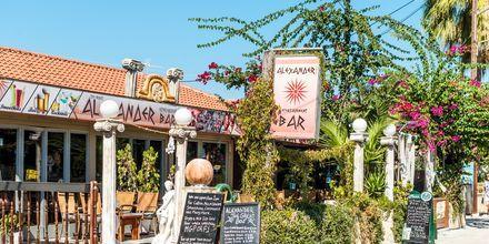 Restaurant i Kalamaki på Zakynthos, Grækenland.